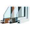 casement window of upvc 60 series