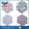 Round Penny Patterns Marble Mosaic Tiles