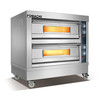 Electric Baking Deck Oven Front S/S 2 Deck 4 Trays Electric Baking Deck Oven FMX-O38B