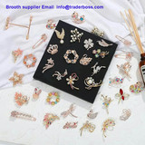 Brooth supplier ,flower series, insect series,Joyce M.G Group Company Limited