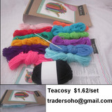 small owl $1.24/set  Small Turtle $1.15/set speck yarn $7.62/kg contact  Joyce M.G Group Company Limited email :  tradersoho@gmail.com , info@traderboss.com
