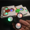 2017 Hot Finger Toy Electron Fidget Spinner Triangle EDC Led Flashing Fidget Hand Spinner Relieve Stress