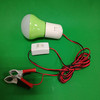 led dc bulb with clip wire 12v