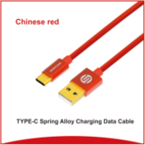 New Design 2 in 1 Nylon Alloy USB Charging Data Cable