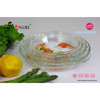 Round glass fluted baking dish