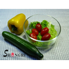 4pcs Oven safe round glass food storage containers