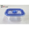 4 pcs Rectangular Glass Food Storage Container with leakproof lids