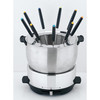 Linkmath stainless steel 304 cheese fondue pot set LMFC18B01
