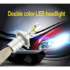 High power super bright Led S5D car led headlig 6000lm 3000K 6500K