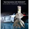 dual color new auto parts,led car headlight ,H4 H13 9004 9007 car led headlight for all cars