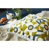 wholesale Hot sale high quality popular cotton Washable square soft pillow cases teal cushion covers