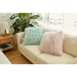 High Quality Fur Cushion Covers/Customize Size Beroom Fur Cushion Cover