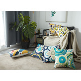 linen cushion moroccan cushion cover travel pillow cushion cover