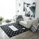 Custom printed foot mat/pad ground mat carpet for living room