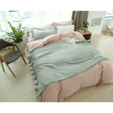100% acrylic sweater knit cotton knit blanket