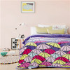 Colorful ultra soft coral fleece blanket for polyester flannel fleece blanket