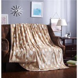 Printing color stock flannel fleece blanket