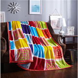 Fleece blanket flannel fleece blanket polar fleece blanket