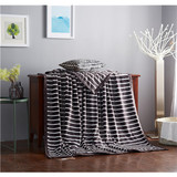 Queen size fleece blankets super soft flannel blanket soft plush blanket