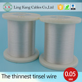 Silver-plated copper foil wire manufacturer for medical conductor cables