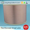 Tin copper alloy tinsel wire for Apple USB conductor wire