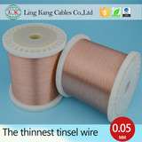 Silver copper alloy tinsel wire for Apple USB conductor wire