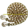 Galvanized G70 Chains With Clevis/Eye Grab Hooks on Both Ends