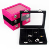 Jewelry Collection Bracelet Ring Necklace Earring Display Box Jewellery Case