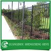 Heavy duty industrial safety fence spear top tubular steel fencing Kenya
