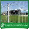 PVC Coated galvanized welded wire mesh 3 bends wire mesh fence with peach square post