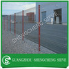 Galvanized Triangle bending wire fence yard guard fence for sale