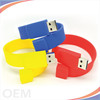 2gb 4gb 8gb 16gb 32gb silicone usb flash drive pendrive wristband