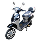 500W Brushless Electric Scooter,adult electric bicycle with Pedal and Rear Box