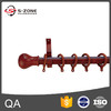 wooden curtain rod with bracket ring