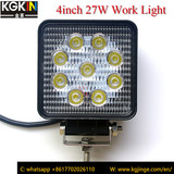 4 inch 27W led work light auto head lamp