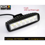 6inch 18W Led Light Headlight For Auto Car Off-Road SUV