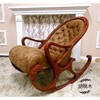 wood rocking chair leisure rocking chair living room lounge chair
