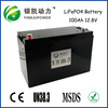 Replacement  seal lead acid battery 12V 100AH lifepo4 battery