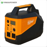 500Wh portable power storage system with battery solar panel for outdoor energy storage