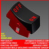 New products hot sell plastic double color injection mold & key shell
