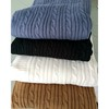 Manufactuer Oeko-Tex 100 acrylic cable knit throw blanket