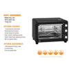 toaster oven Electric Oven Convection ovens 18L