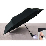Auto open&close Folding Umbrella With LED Handle