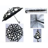Rereflective Dots Printing Golf Umbrella