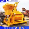 JS1000 portable rotationg drum concrete mixer
