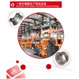 One piece steel wheels manufacturing equipment