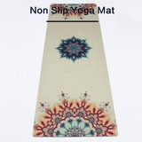 Top quality fashional eco friendly non slip natural rubber yoga mat