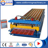 Color Coated Roofing Steel Roll Forming Machine