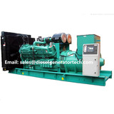 2200KW/2750KVA Open Type Diesel Generator Powered by Cummins Engine