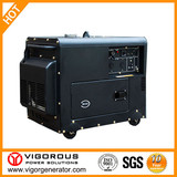 Home Back Up Super Quiet Dual Fuel (Gasoline and Gas) Generator 5.5kw With Auto Transfer Switch